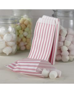 Pastel Pink Sweet Candy Bags