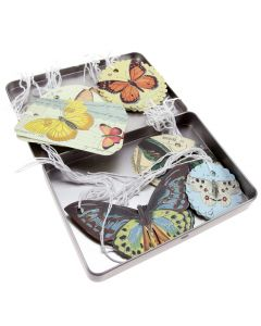 Cavallini and Co - Butterfly Assorted Gift Tags