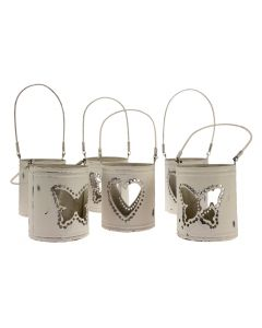 Heart and Butterfly Lantern Set