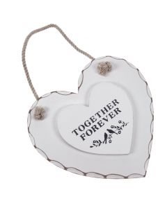 'Together Forever' Heart Decoration