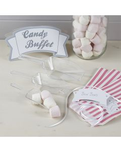 Candy Bar or Buffet Kit (Pastel Pink)