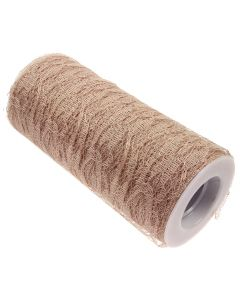 Lace Net Roll - 15cm Coffee