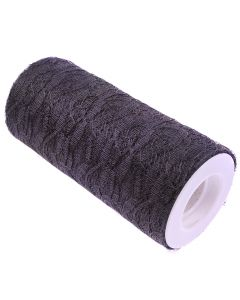 Lace Net Roll - 15cm Black