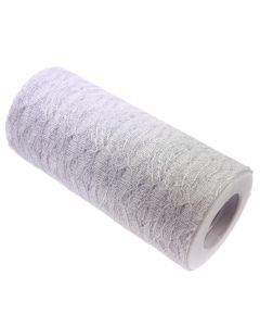 Lace Net Roll - 15cm White