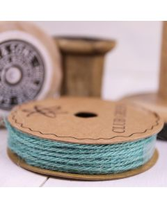 Hessian String - Turquoise