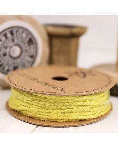 Hessian String - Yellow