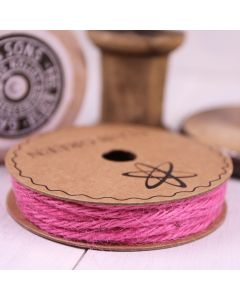 Hessian String - Fuchsia