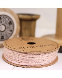 Hessian String - Pink