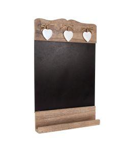 Rustic Wooden Heart Chalkboard