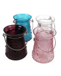 Assorted Jewel Tealight Holders (Set of 4)