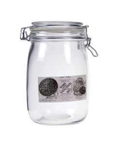 Decorative Preserving Jar