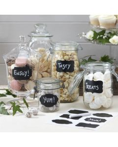 Chalkboard Stickers for Candy Bars