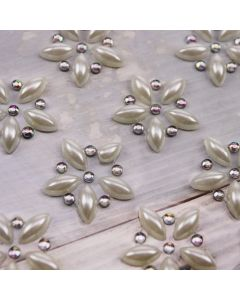 Floraison Self Adhesive Embellishment (12 per Sheet)