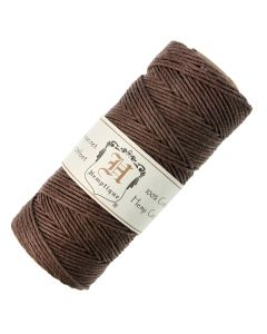 Hemptique Hemp Cord Dark Brown