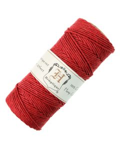 Hemptique Hemp Cord Red