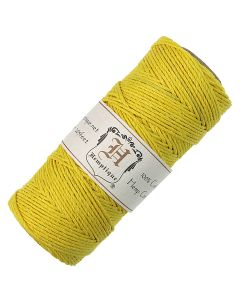 Hemptique Hemp Cord Yellow