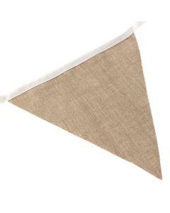 Plain Burlap Linen Bunting