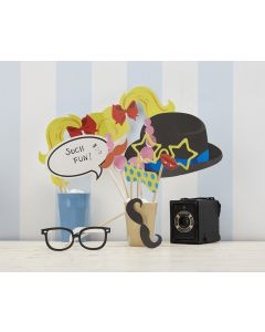 Photo Booth Props Kit (Party)