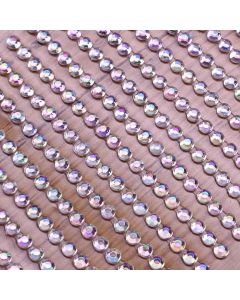 3mm Gem Self Adhesives - Iridescent - Zoom