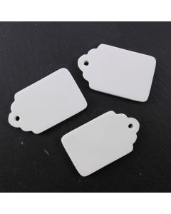 Ceramic Tags (Luggage Small) - Pack of 3