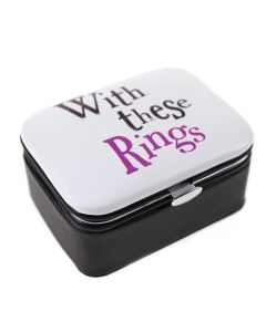 With These Rings Jewellery Box
