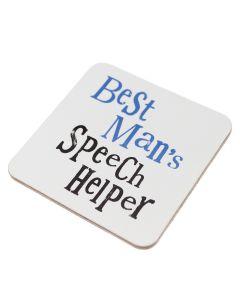 Coaster - Best Man's Speech Helper