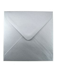 Silver Large Square 155mm Envelope