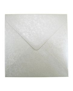 Applique Ivory Large Square 155mm Envelope