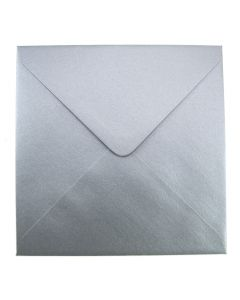 Soft Sheen Silver Large Square 155mm Envelope
