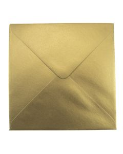 Soft Sheen Gold Large Square 155mm Envelope