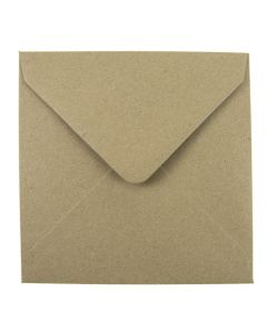 Eco Kraft Large Square 155mm Envelope