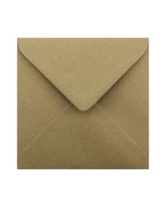 Eco Kraft Small Square 130mm Envelope