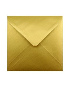 Gold Small Square 130mm Envelope