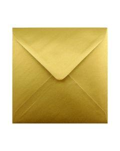 Gold Metallic 160mm Square Envelopes