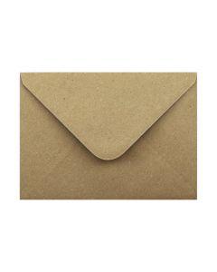 "Eco Kraft 133 x 184mm Envelopes (fits 5 x 7"")"