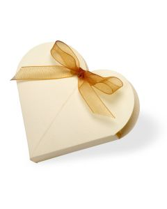 Scia Heart Favour Box (Pack of 10)