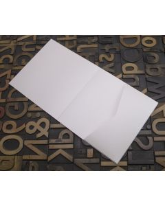 Enfolio Tentfold (Lg Sq) and Add On Pockets - Pearlescent Ivory