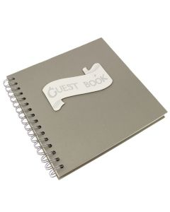 Ribbon Motif 'Guest Book'