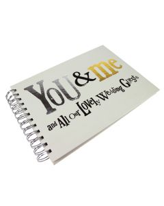 Bright Side 'You & Me and All our Lovely Wedding Guests' Guest Book
