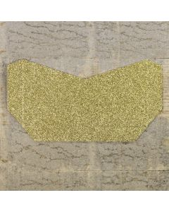 Enfolio Tentfold (Lg Sq) Add on Pocket - Gold Glitter Card