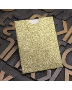 Enfolio Wallet Mini - Gold Glitter Card