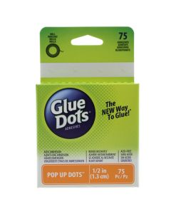 1.3cm Pop Up - Glue Dots on a Roll