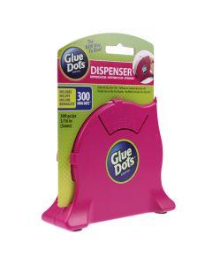 Glue Dot Desktop Dispenser with Mini Dots Roll
