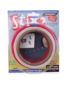 Perforated 10mm Glue Dots - Roll