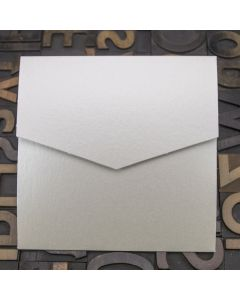 Enfolio Pocketfold (Lg Sq) - White Lustre