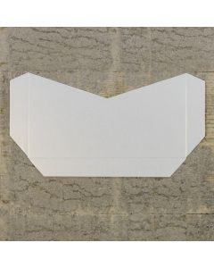 Enfolio Tentfold (Lg Sq) Add On Pocket - White Lustre