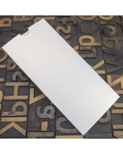 Enfolio Wallet (DL) - White Lustre