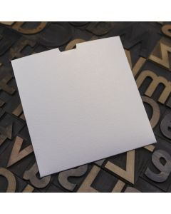 Enfolio Wallet 125mm Sq - White Lustre