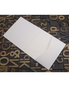 Enfolio Tentfold (Lg Sq) and Add On Pockets - White Lustre