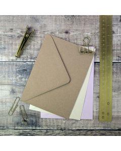 125 x 175mm Envelopes for making wedding invitations